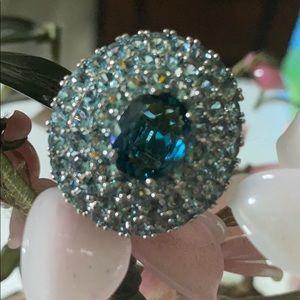Vintage 925 turmaline ring